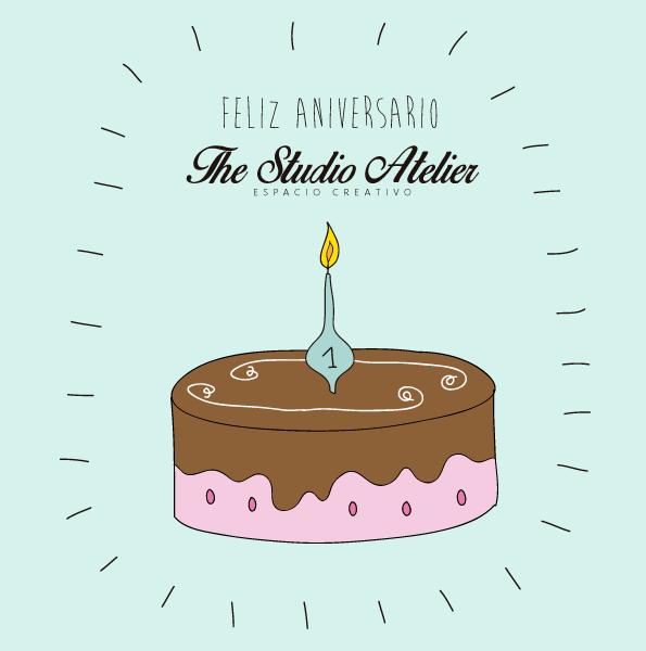 Primer aniversario The Studio Atelier