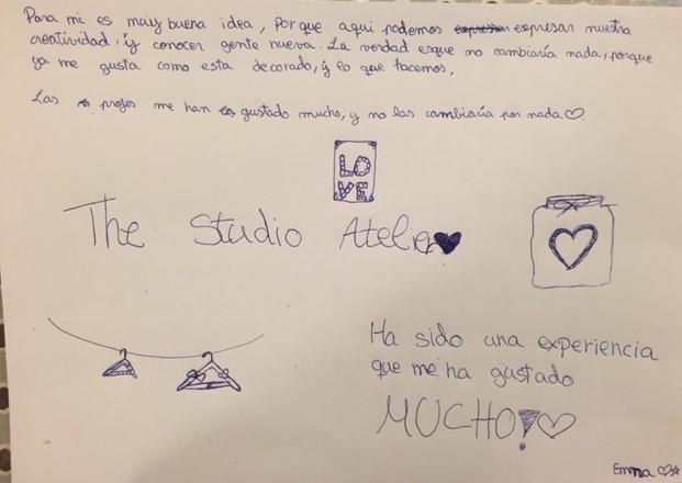 the studio manualidades extraescolares costura